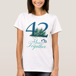 wedding anniversary / 42 / 42nd / number 42 T-Shirt