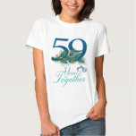 wedding anniversary / 59 / 59th / number 59 tshirt