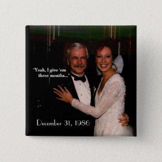 wedding anniversary button