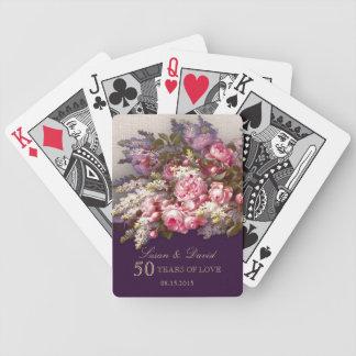 Wedding Anniversary Custom Gift Playing Cards