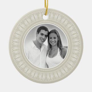 Wedding Anniversary Photo Frame Christmas Ornament