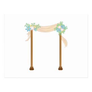 Wedding Arch Postcard