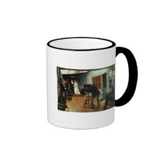 Wedding at the Photographer's, 1878-9 Ringer Mug