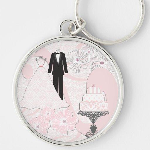 Wedding Attire Keychain