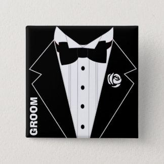 Wedding,bachelor party,stag party 15 cm square badge