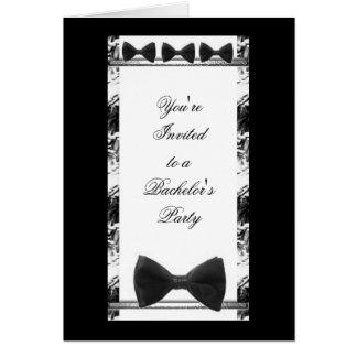 Wedding Bachelor's Party Invitation