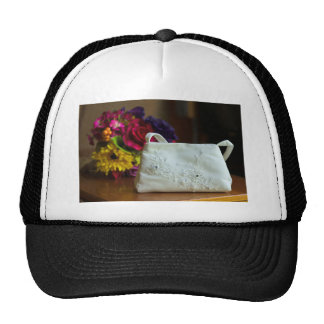 Wedding Bag & Bouquet Cap