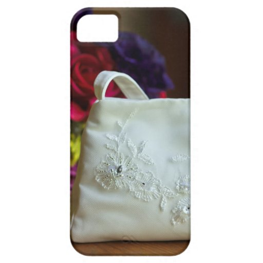 Wedding Bag & Bouquet Case For iPhone 5/5S