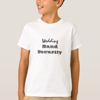 Wedding Band Security Ring Bearer's Tee