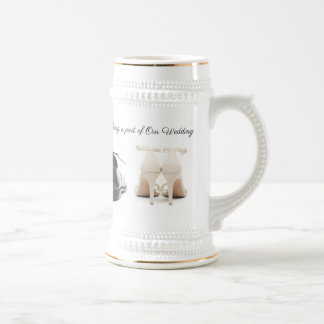 Wedding Beer Stein (Custom) By Zazz_it