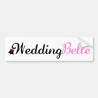 WEDDING BELLE BUMPER STICKER