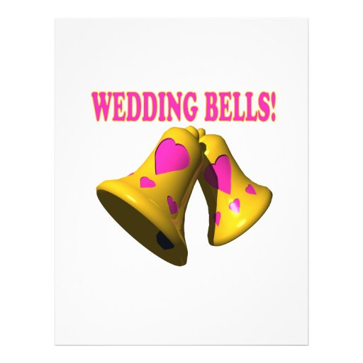 Wedding Bells 4 Flyers