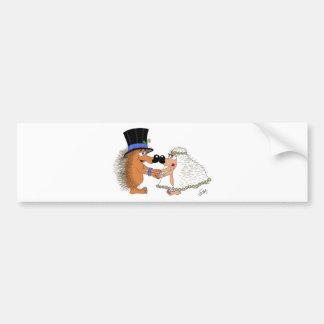 Wedding Bells. Bumper Sticker