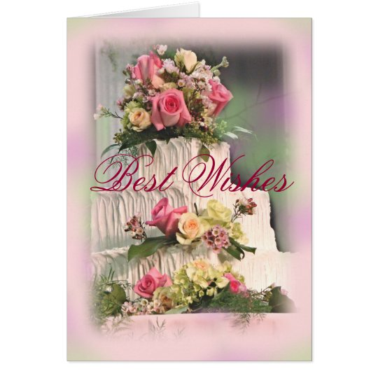 Wedding Best Wishes-customise Card
