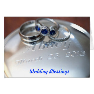 Wedding Blessings Card