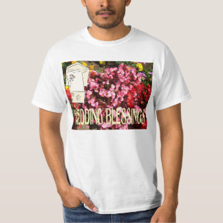 Wedding blessings vards and flowers T-Shirt