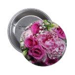 Wedding bouquet buttons