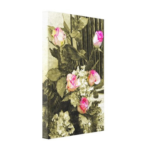 Wedding Bouquet Stretched Canvas Prints