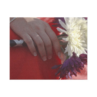 Wedding Bouquet Gallery Wrap Canvas