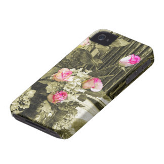 Wedding Bouquet iPhone 4 Case-Mate Cases
