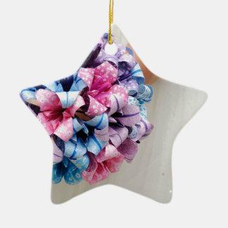 Wedding Bouquet Ceramic Star Decoration