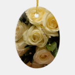 Wedding bouquet christmas tree ornaments