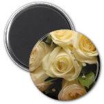 Wedding bouquet fridge magnet
