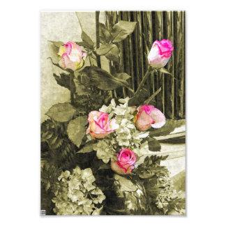 Wedding Bouquet Photo Print
