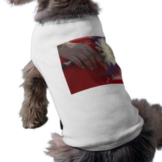 Wedding Bouquet Sleeveless Dog Shirt