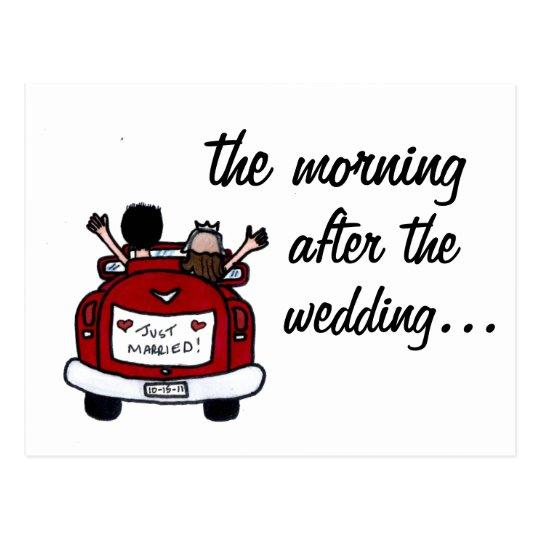 Wedding Breakfast Invite Postcard