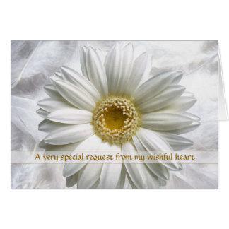 Wedding Bridal Invitation Request - Any Use Greeting Card