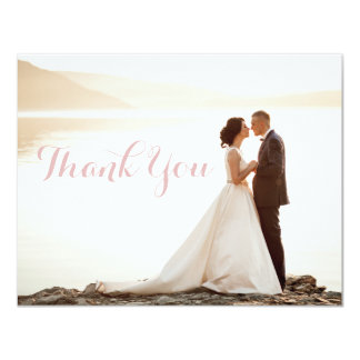 Wedding Bridal Shower Thank You Notes Card
