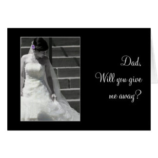 Wedding Bride Card