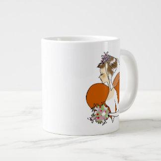 wedding bride giant coffee mug