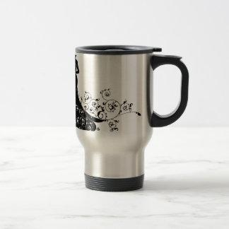 Wedding Bride Silhouette Travel Mug