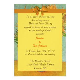 wedding, bride's parents invitation personalized announcement
