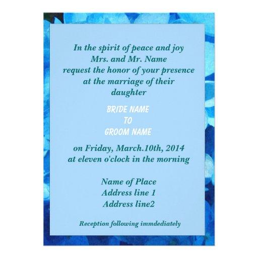 wedding, bride's parent's invitation custom invites