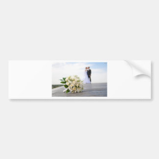 Wedding Bumper Sticker
