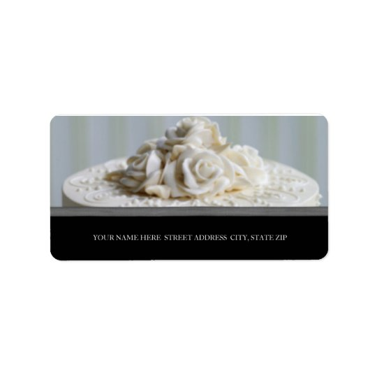 Wedding Cake Address Labels