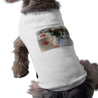 Wedding Cake and Lantern Dog T Shirt