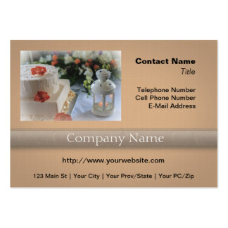 Wedding Cake and Lantern Pack Of Chubby Business Cards