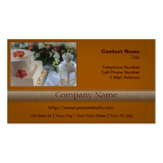 Wedding Cake and Lantern Pack Of Standard Business Cards