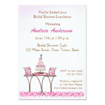 Wedding Cake Bridal Luncheon Shower Invitation