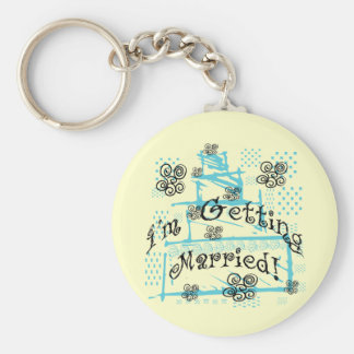 Wedding Cake Bride Tshirts and Gifts Key Chain
