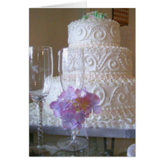 Wedding Cake Note Card