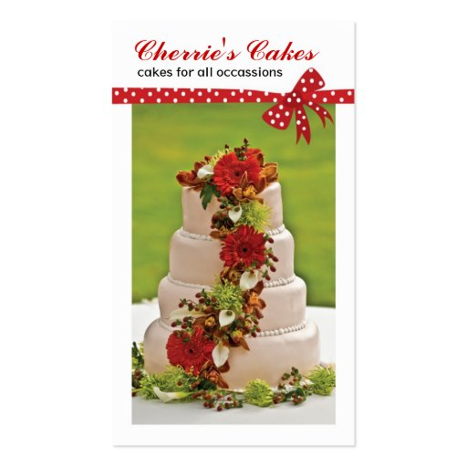 Collections of wedding cake designer business cards wedding cake designer business cards reheart Choice Image