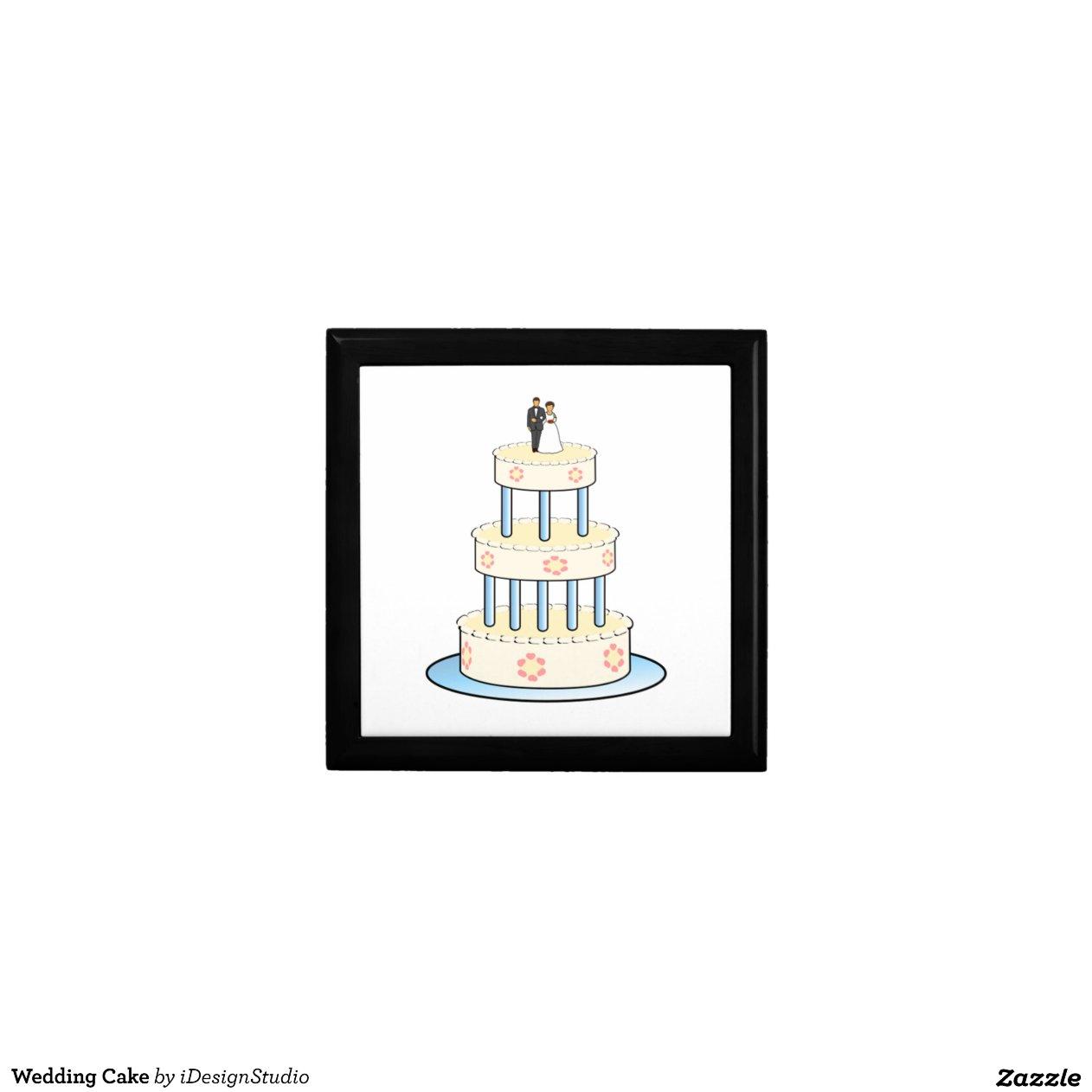 Wedding Cake Gift Boxes Uk : Wedding Cake Gift Boxes Zazzle