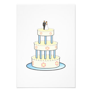 Wedding Cake Personalized Invite