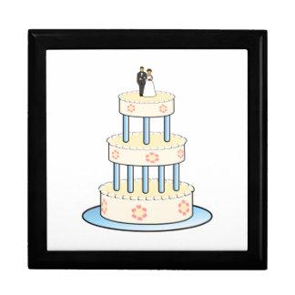 Wedding Cake Large Square Gift Box