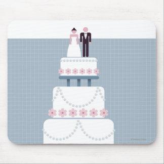 Wedding Cake Mouse Mat